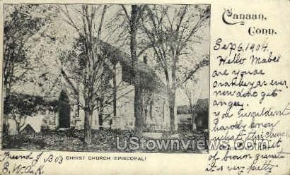 Christ Church - Canaan, Connecticut CT Postcard