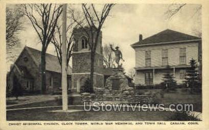 Christ Episcopal Church - Canaan, Connecticut CT Postcard