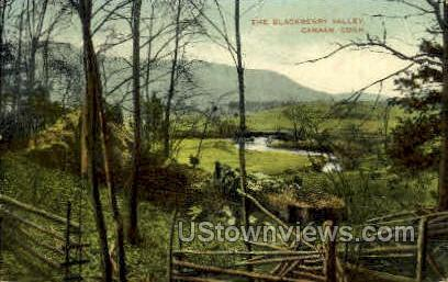 The Blackberry Valley - Canaan, Connecticut CT Postcard
