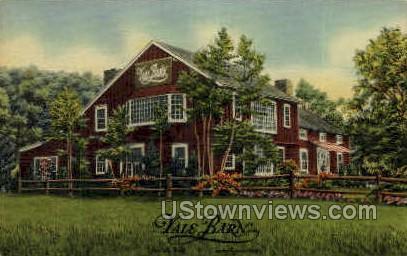 Yale Barn - Canaan, Connecticut CT Postcard