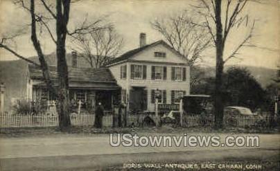 Doris Wall Antiques - Canaan, Connecticut CT Postcard