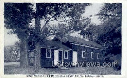 Friendly Society Holiday House - Canaan, Connecticut CT Postcard