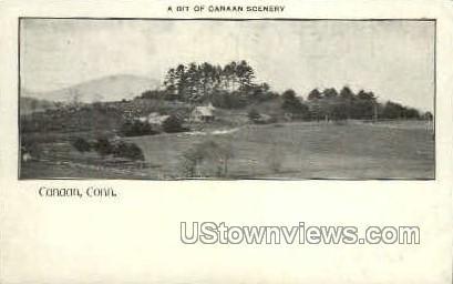 Canaan, CT, Conn, Connecticut Postcard