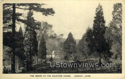 The Grove, Vacation House - Canaan, Connecticut CT Postcard