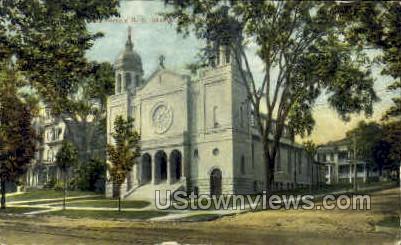 St. Joseph's R.C. Church - Danbury, Connecticut CT Postcard