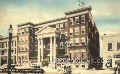 Hotel Green - Danbury, Connecticut CT Postcard