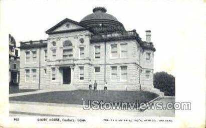 Court House - Danbury, Connecticut CT Postcard