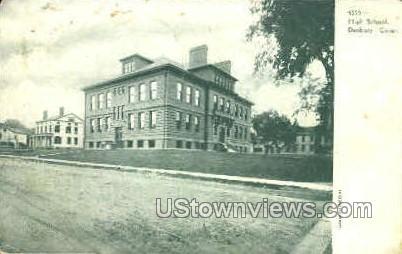 High School - Danbury, Connecticut CT Postcard