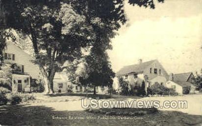 White Turkey Inn - Danbury, Connecticut CT Postcard