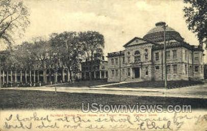 Fairfield County Court House - Danbury, Connecticut CT Postcard