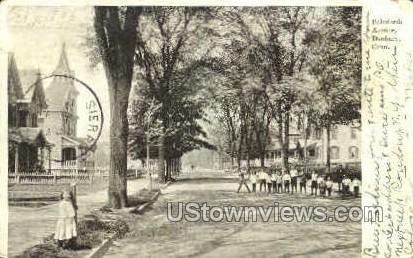 Balmforth Ave. - Danbury, Connecticut CT Postcard