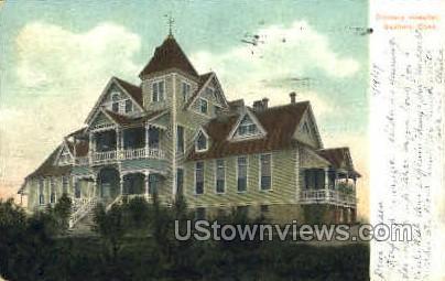 Danbury Hospital - Connecticut CT Postcard