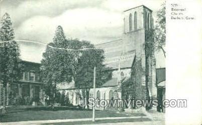 Episcopal Church - Danbury, Connecticut CT Postcard