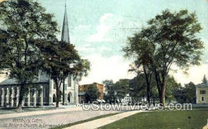 Elmwood Park - Danbury, Connecticut CT Postcard