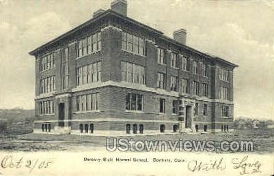 Danbury State Normal School - Connecticut CT Postcard