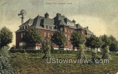 Broad View - Danbury, Connecticut CT Postcard