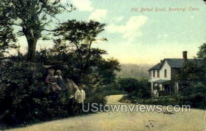 Old Bethel Road - Danbury, Connecticut CT Postcard