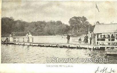 Lake Kenosia - Danbury, Connecticut CT Postcard