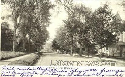 Fairview Ave. - Danbury, Connecticut CT Postcard