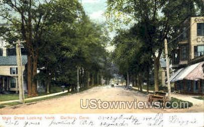 Main Street - Danbury, Connecticut CT Postcard