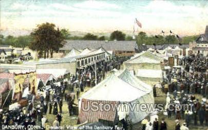 Danbury Fair - Connecticut CT Postcard