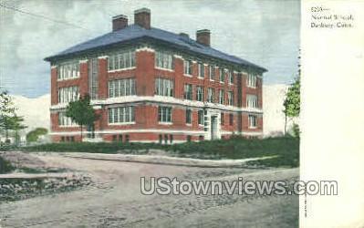 Normal School - Danbury, Connecticut CT Postcard
