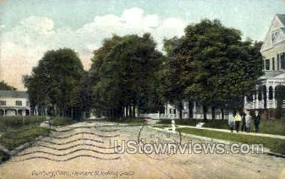 Pleasant St. - Danbury, Connecticut CT Postcard
