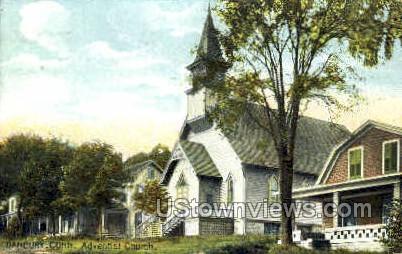 Adventist Church - Danbury, Connecticut CT Postcard
