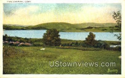 Lake Danbury - Connecticut CT Postcard
