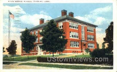 State Normal School - Danbury, Connecticut CT Postcard