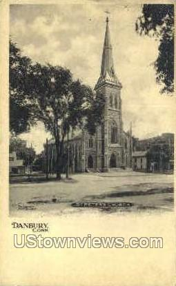 St. Peter's Church - Danbury, Connecticut CT Postcard