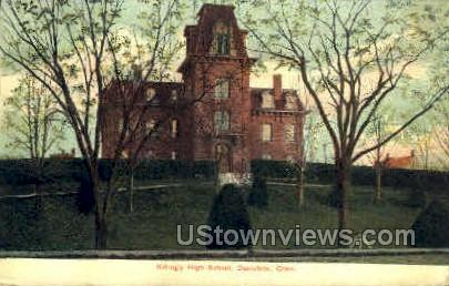 Killingly High School - Danielson, Connecticut CT Postcard