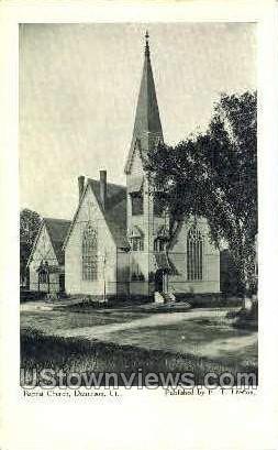 Baptist Church - Danielson, Connecticut CT Postcard