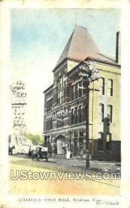 Killingly Town Hall - Danielson, Connecticut CT Postcard