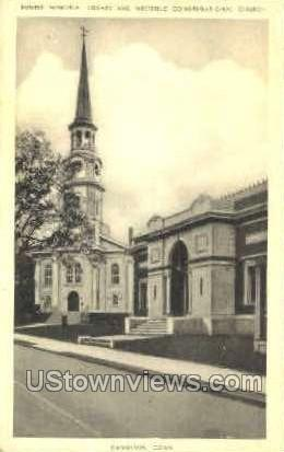 Bugbee Memorial Library - Danielson, Connecticut CT Postcard