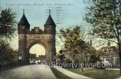Soldiers & Sailors Memorial Arch - Hartford, Connecticut CT Postcard