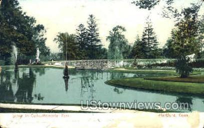 Colts Memorial Park - Hartford, Connecticut CT Postcard