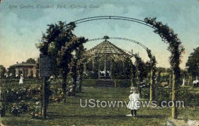 Rose Garden, Elizabeth Park - Hartford, Connecticut CT Postcard