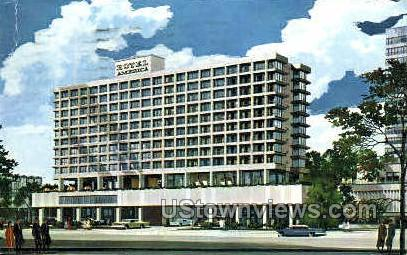 Hotel America - Hartford, Connecticut CT Postcard