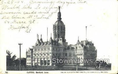 Capitol - Hartford, Connecticut CT Postcard