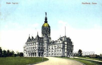 State Capitol - Hartford, Connecticut CT Postcard