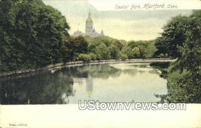 Capitol Park - Hartford, Connecticut CT Postcard