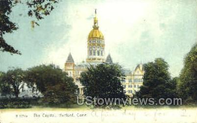 The Capitol - Hartford, Connecticut CT Postcard