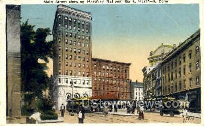Hartford National Bank - Connecticut CT Postcard