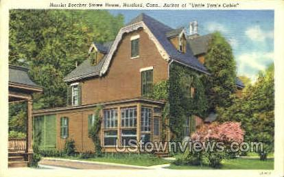 Harriet Beecher Stowe House - Hartford, Connecticut CT Postcard