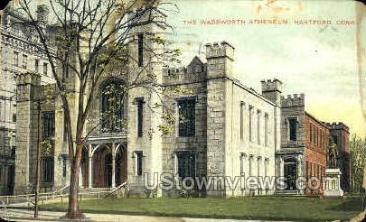 The Wadsworth Atheneum - Hartford, Connecticut CT Postcard