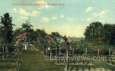 Elizabeth Park - Hartford, Connecticut CT Postcard