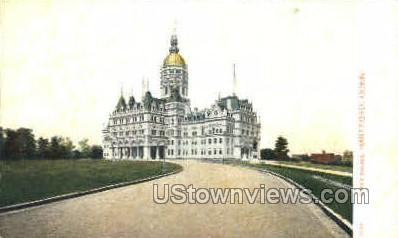 State House - Hartford, Connecticut CT Postcard