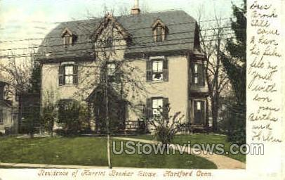 Harriet Beecher Stowe - Hartford, Connecticut CT Postcard