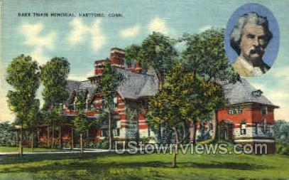 Mark Twain Memorial - Hartford, Connecticut CT Postcard